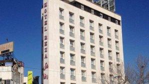 نمای  بیرونی هتل رضا