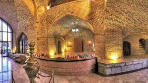 پذیرش هتل لاله بیستون کرمانشاه