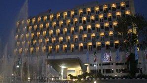 نمای بیرونی هتل هما۱