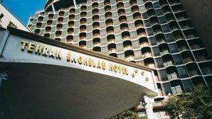 نمای بیرونی هتل انقلاب