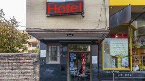 نمای هتل زیبا تبریز