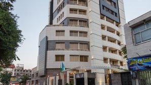 هتل سیمرغ فیروزه مشهد نمای بیرونی