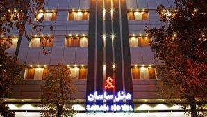 هتل ساسان شیراز نمای بیرونی