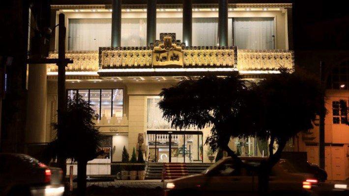 هتل امیران 1 بعثت همدان نمای بیرونی