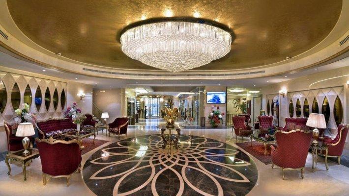 هتل الماس نوین مشهد لابی 1