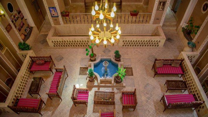 هتل سنتی خوان دو حد یزد فضای داخلی هتل