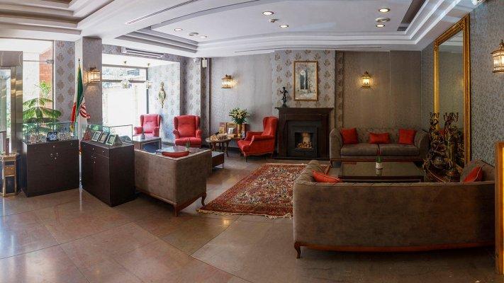هتل آپارتمان طوبی تهران لابی 1