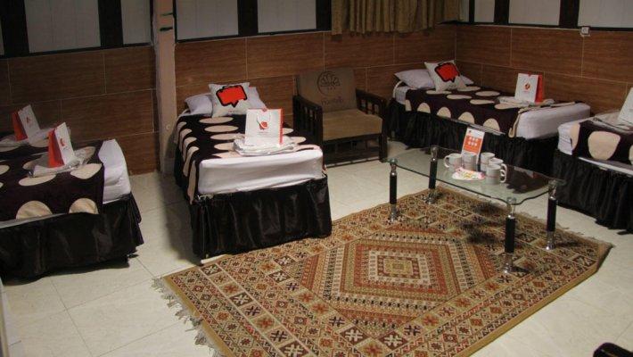 مهمانسرای نیکو تهران اتاق چهار تخته 2