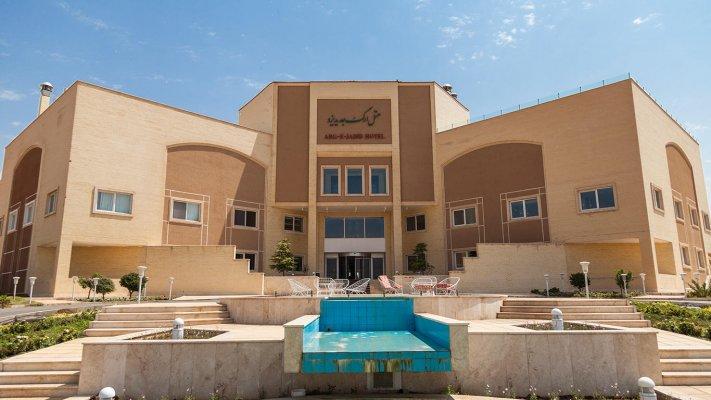 هتل ارگ جدید یزد نمای بیرونی