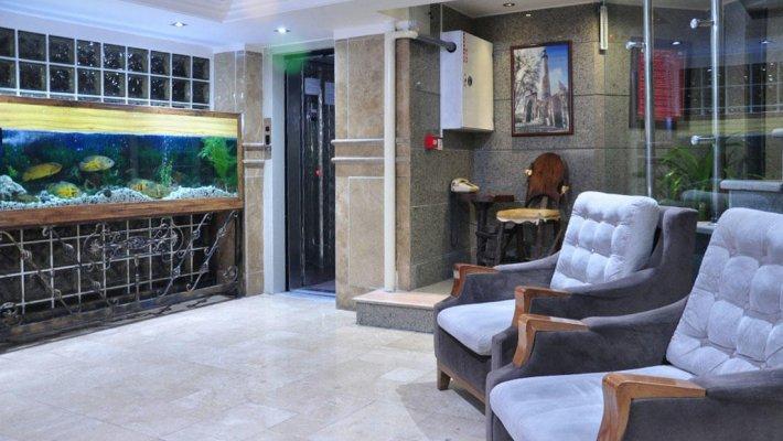 هتل آپارتمان استقبال تهران لابی 1