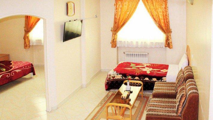هتل آپارتمان قصر خورشید مشهد فضای داخلی سوئیت ها 1