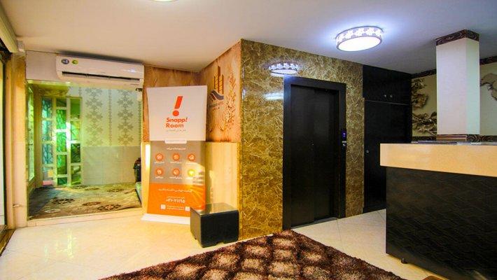 هتل پارادایس تهران لابی 1