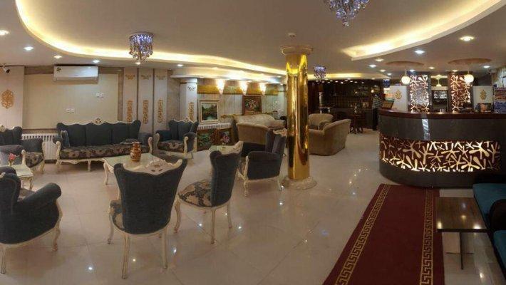 هتل آپارتمان جمالی مشهد لابی