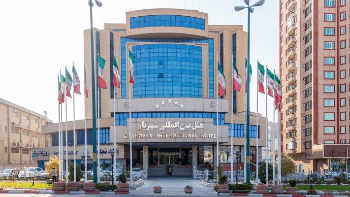هتل شهریار تبریز نمای بیرونی