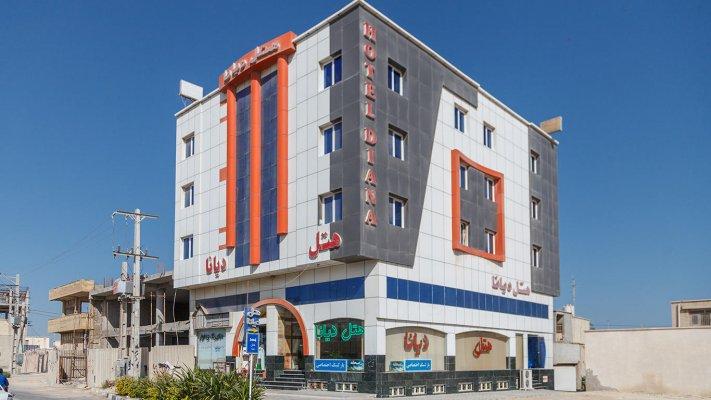 هتل دیانا قشم نمای بیرونی