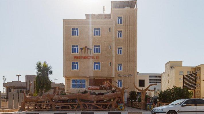 هتل مارینا 2 قشم نمای بیرونی 1