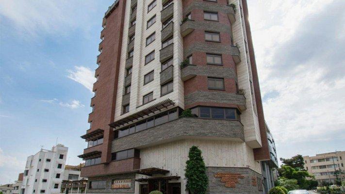 هتل اسکان الوند تهران نمای بیرونی 1