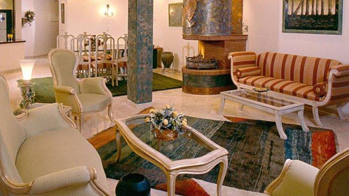 هتل آپارتمان ملل تهران لابی