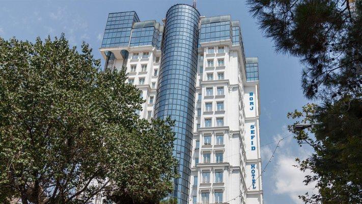 هتل برج سفید تهران نمای بیرونی