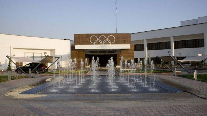 هتل المپیک تهران نمای بیرونی 2