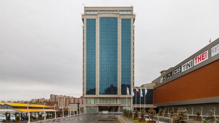 هتل لاله پارک تبریز نمای بیرونی
