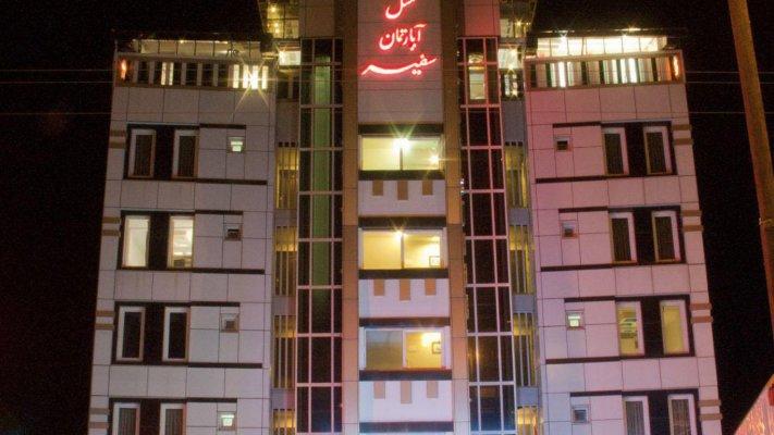 هتل آپارتمان سفیر بندر انزلی نمای بیرونی