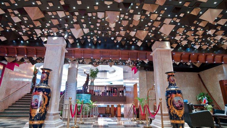 هتل فردوسی تهران فضای داخلی هتل 1