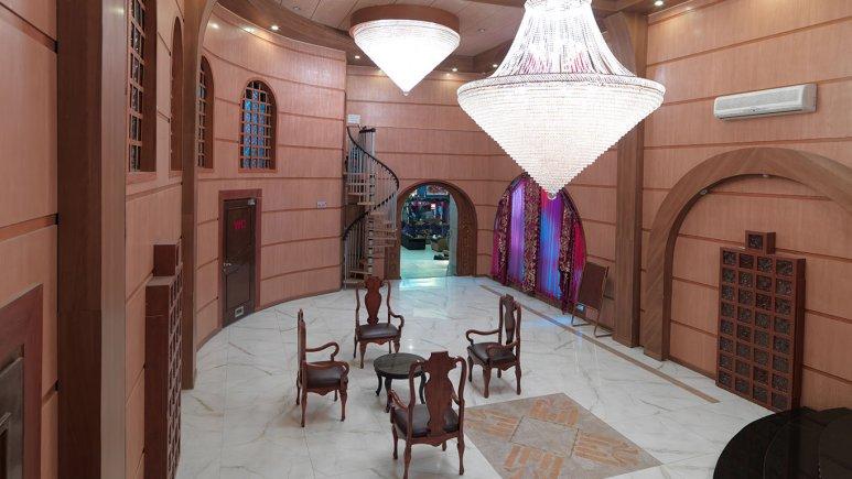 فضای داخلی هتل فردوسی