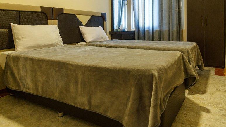 هتل آلاله 2 درگهان اتاق دو تخته تویین 2