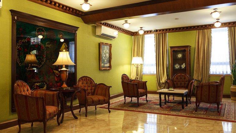 هتل رزیدانس رودکی تهران لابی 3