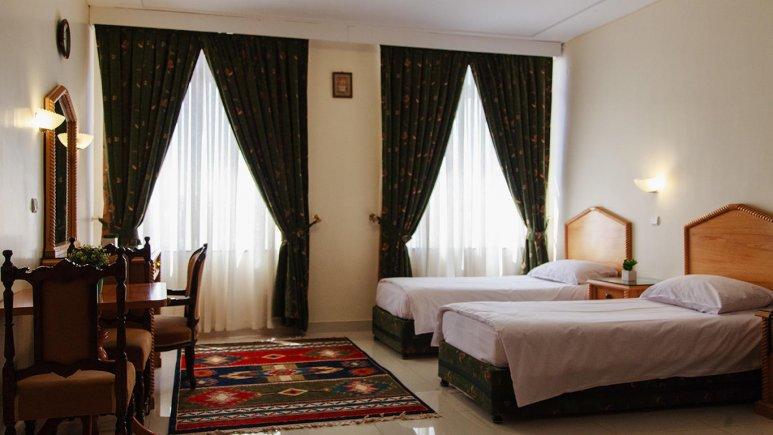 هتل رزیدانس رودکی تهران اتاق دو تخته 1