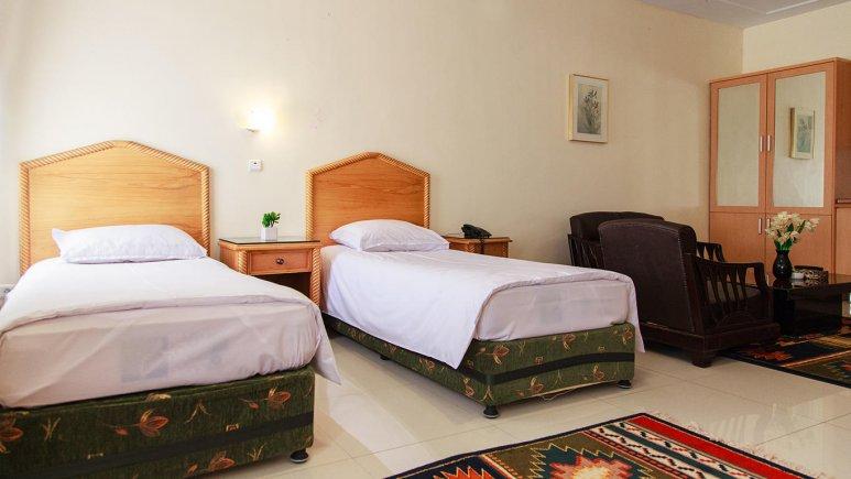 هتل رزیدانس رودکی تهران اتاق دو تخته 2