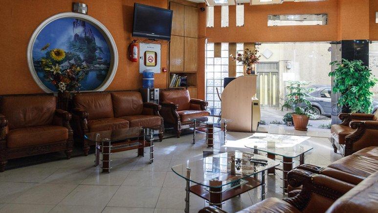 هتل آپارتمان قصر اصفهان لابی