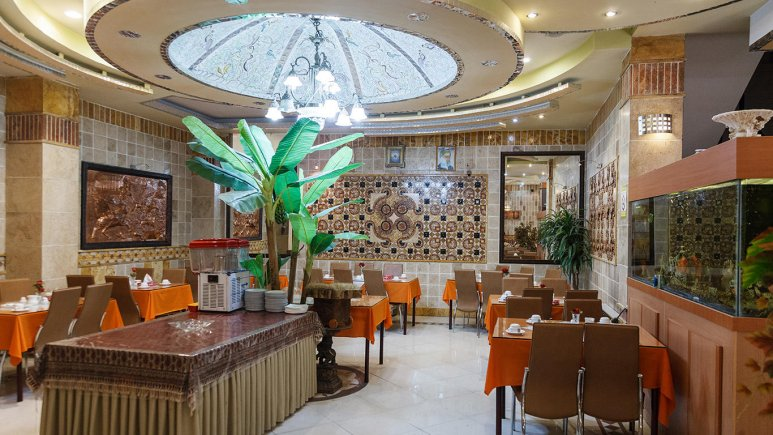 هتل آپارتمان قصر اصفهان رستوران