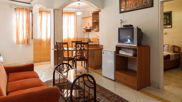 هتل آپارتمان قصر اصفهان فضای داخلی سوئیت ها 1