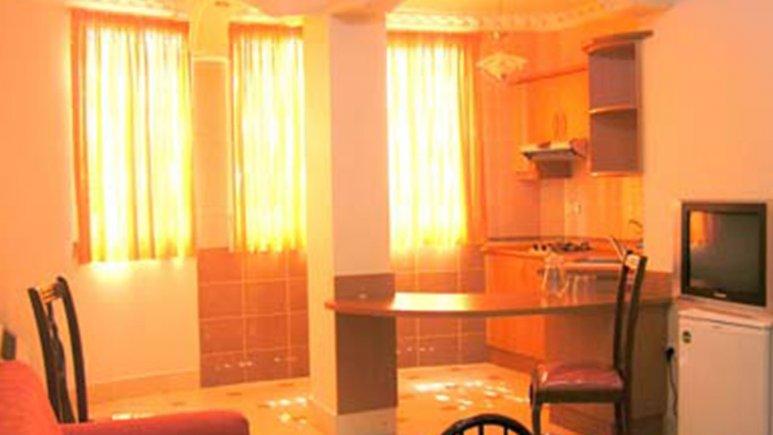 نمایی از هتل آپارتمان قصر
