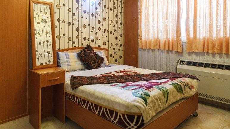 نمای اتاق دبل هتل قصر اصفهان