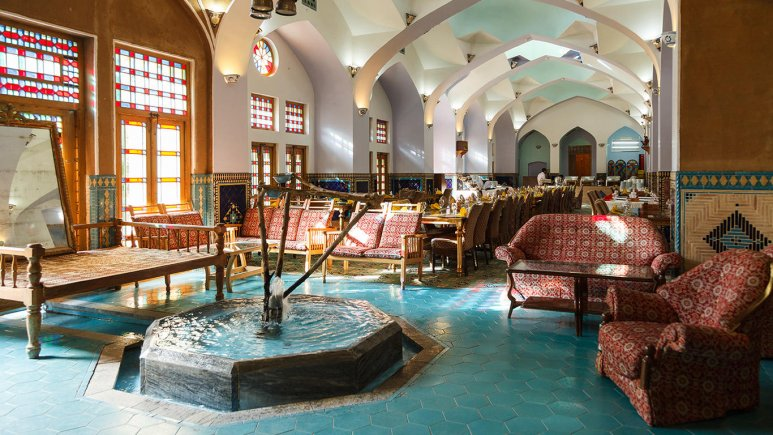 هتل مشیر الممالک یزد رستوران 4