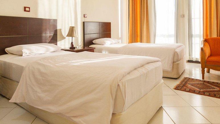 هتل جام جم کیش اتاق دو تخته تویین