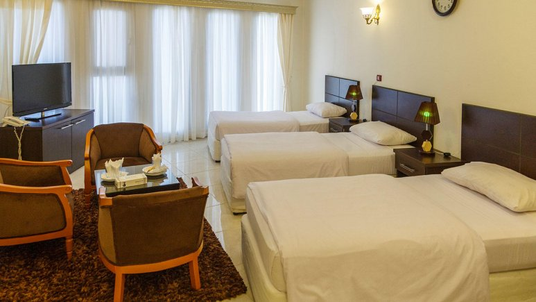 هتل جام جم کیش اتاق سه تخته