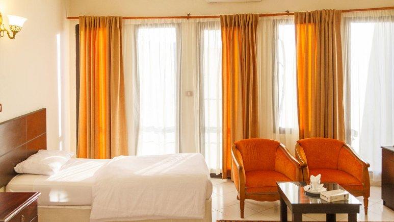 هتل جام جم کیش فضای داخلی اتاق ها