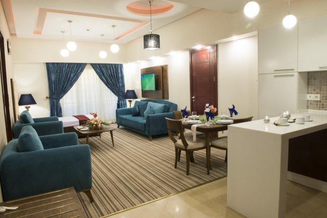 اتاق هتل امید مشهد