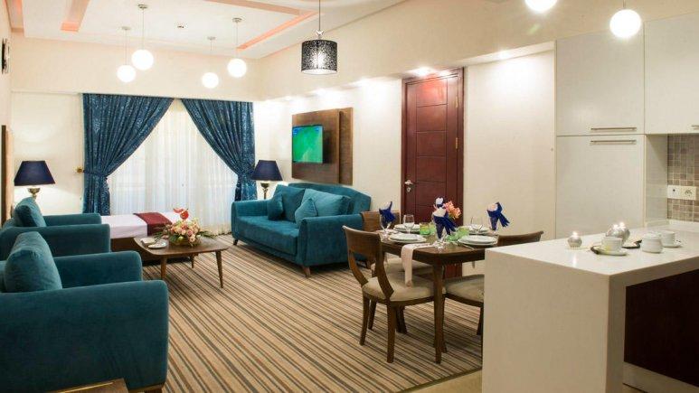 هتل آپارتمان امید مشهد فضای داخلی سوئیت ها 1