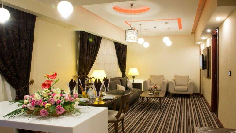 هتل آپارتمان امید مشهد فضای داخلی سوئیت ها 3
