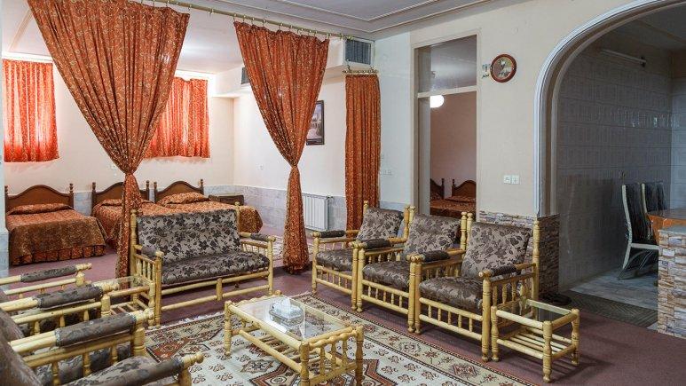 هتل اطلس یزد فضای داخلی اتاق ها