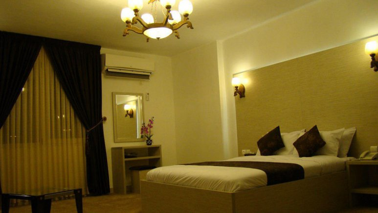 هتل نگین نور اتاق دو تخته دابل 1
