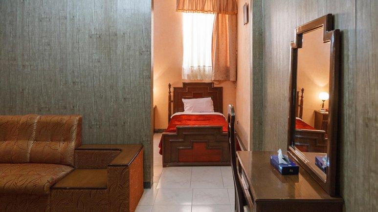 هتل خاتم یزد فضای داخلی سوئیت ها