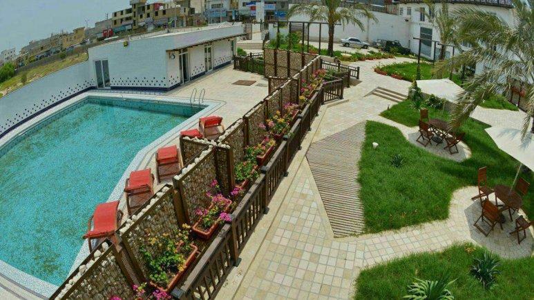 هتل ریم رام عسلویه نمای بیرونی 2