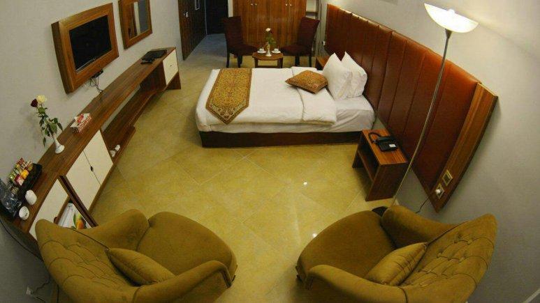 هتل ریم رام عسلویه اتاق یک تخته