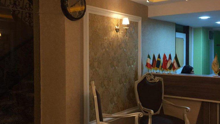 هتل آوان دزفول پذیرش